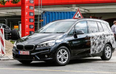 2014年登場 BMW  2シリーズに7人乗り設定?