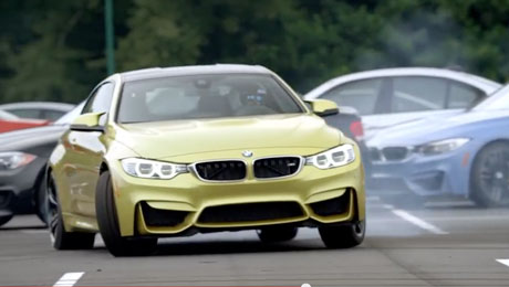 【YouTube】BMW USA F82 M4のドリフト「BMW M Initiation」公開