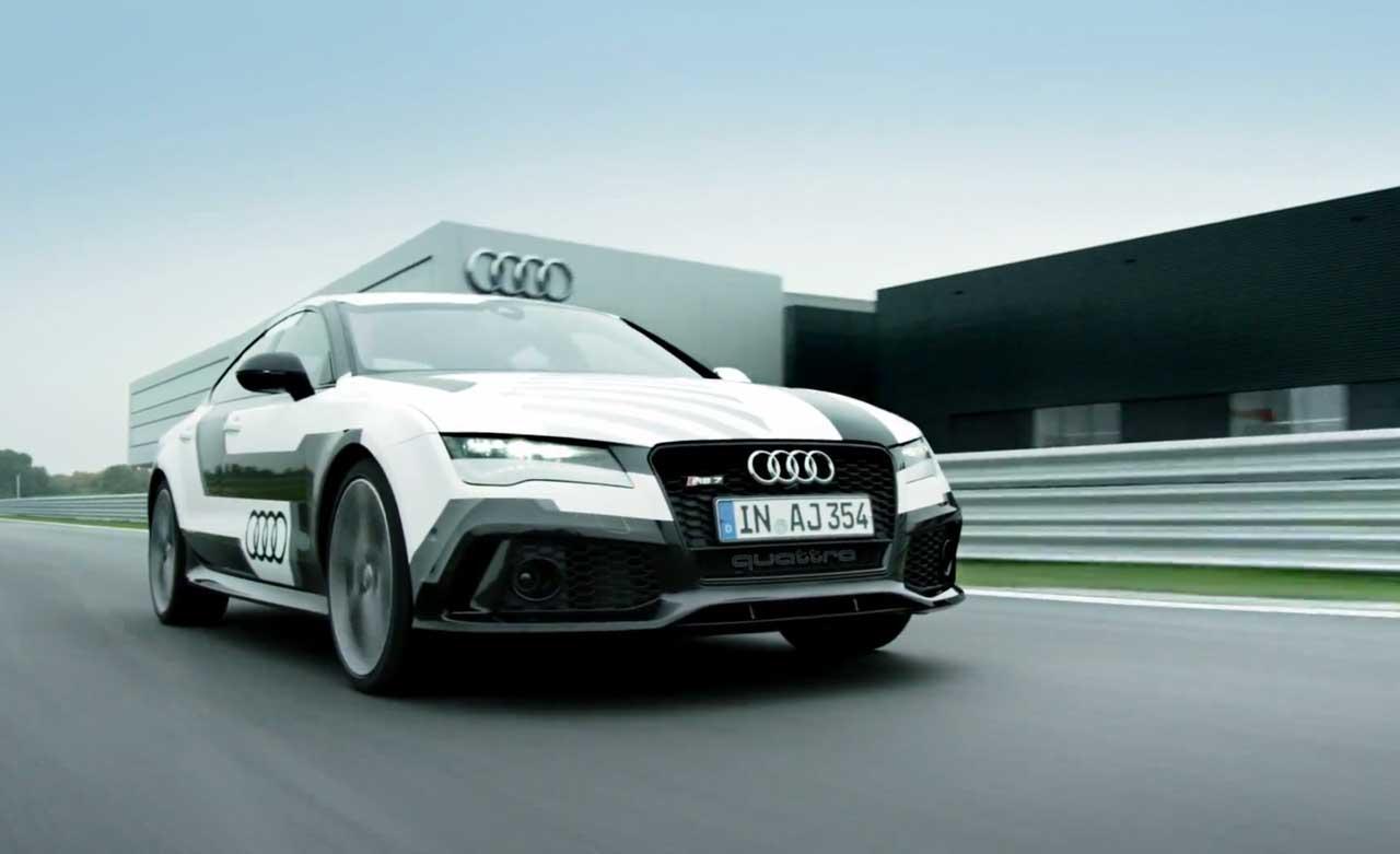 Audiの無人走行映像が凄すぎ! サーキット前回映像