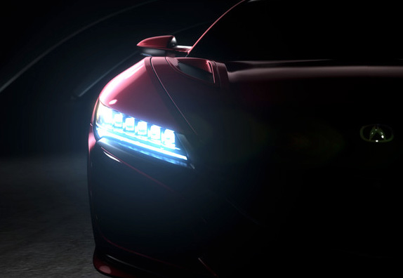 新型NSXを、デトロイトモーターショー2015で初公開