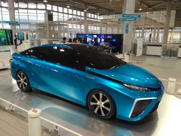 TOYOTA 燃料電池車の特許、約5,680件を無償で提供