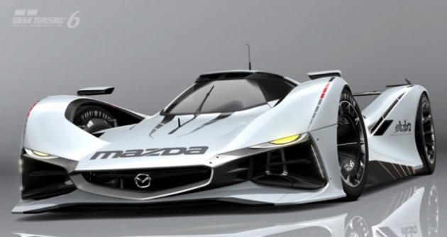 MAZDA LM55 Vision Gran Turismo 「動画あり」