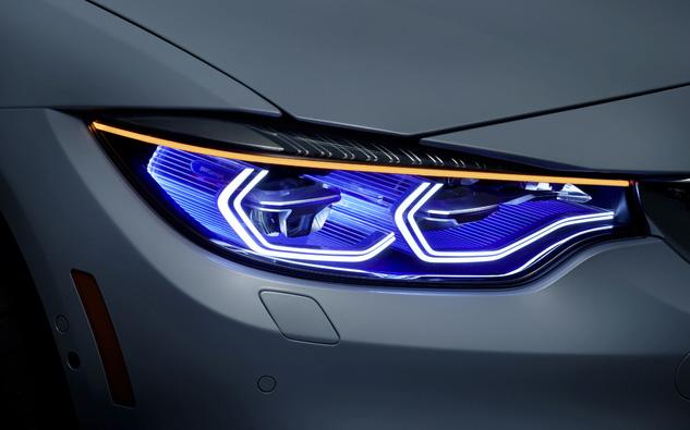 BMW M4 かっこ良すぎる! ヘッドライトとテールランプはやはりBMWが世界NO1!