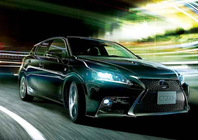 【Lexus】CT200t? ターボエンジン搭載?