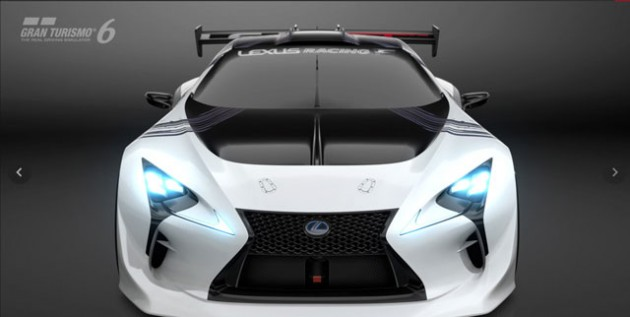 "【GRAN TURISMO】「レクサス LF-LC GT ""Vision Gran Turismo""」を発表"