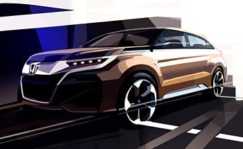 HONDA 2015年上海モーターショーにて新型コンセプトモデルを世界発公開