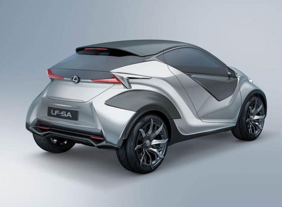 LEXUS LF-SA 今のところ単なるデザインコンセプト