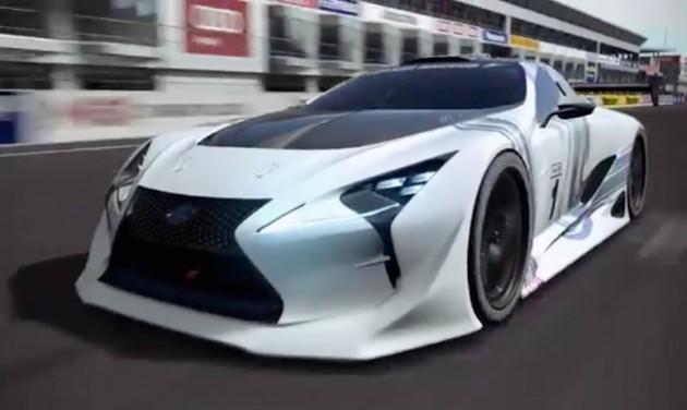 """グランツーリスモ6「レクサス LF-LC GT """"Vision Gran Turismo""""」を公開"""