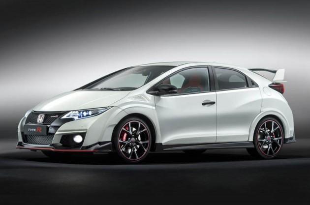 Honda 欧州向け Civic TYPE Rは、ターボエンジン!