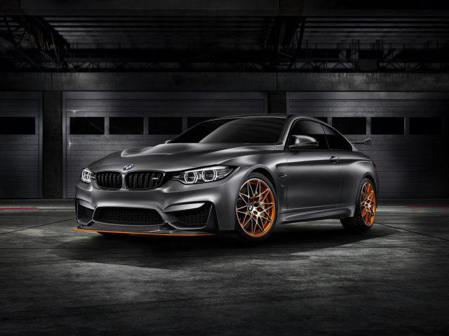 BMW M4 GTS コンセプトモデル 噂のかっこ良すぎるOLEDテールランプを搭載