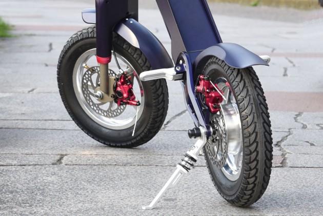 折りたたみ電動バイク  UPQ BIKE me01