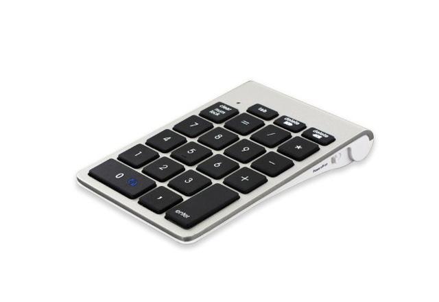 Mac専用のBluetoothテンキーパッド