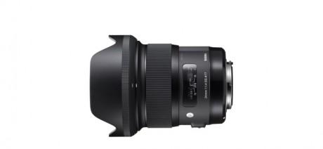SIGMA 24mm F1.4 DG HSM Art lens サンプル画像が掲載
