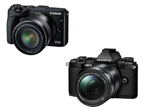 CANON EOS M3 vs OLYMPUS OM-D E-M5 Mark II 動画撮影用として比較してみた