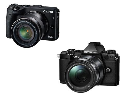 CANON EOS M3 vs OLYMPUS OM-D E-M5 Mark II 動画撮影用として比較してみた