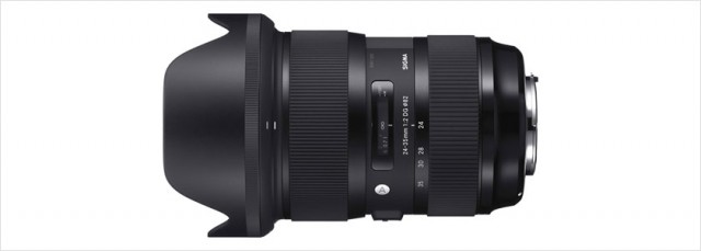 SIGMA 24-35mm F2 DG HSM Art シグマの商品戦略は上手すぎる