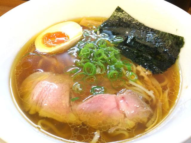 こだわりのあっさりラーメン 麺や 維新 (目黒)