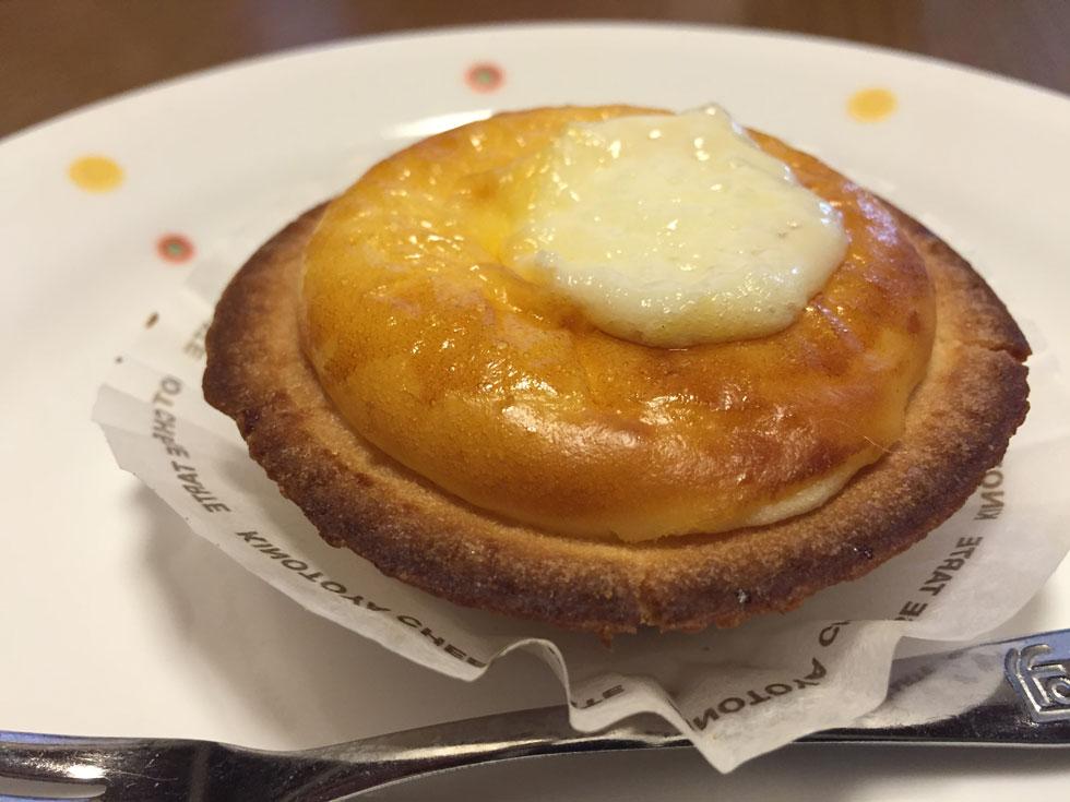 千歳空港おみやげNo.1 KINOTOYA 「焼きたてチーズタルト」