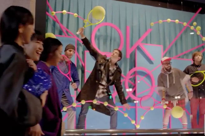 OK GoにPerfume、PerfumeにOK Go コラボPV